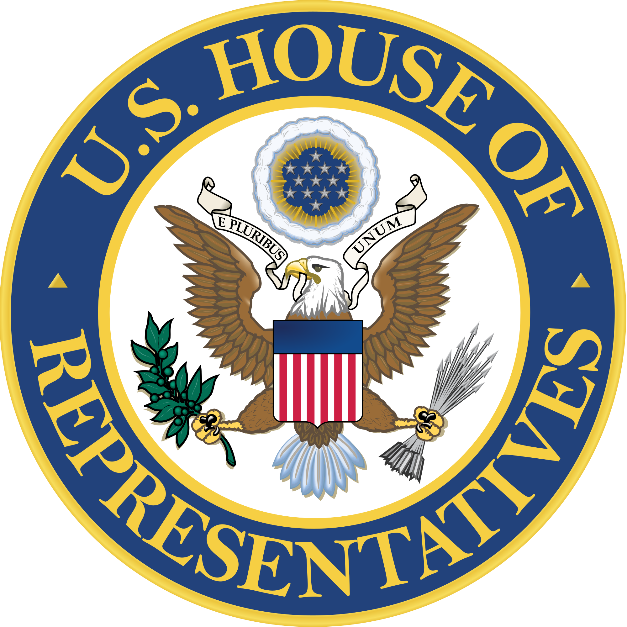 File:Seal of the United States House of Representatives.svg ... banner library