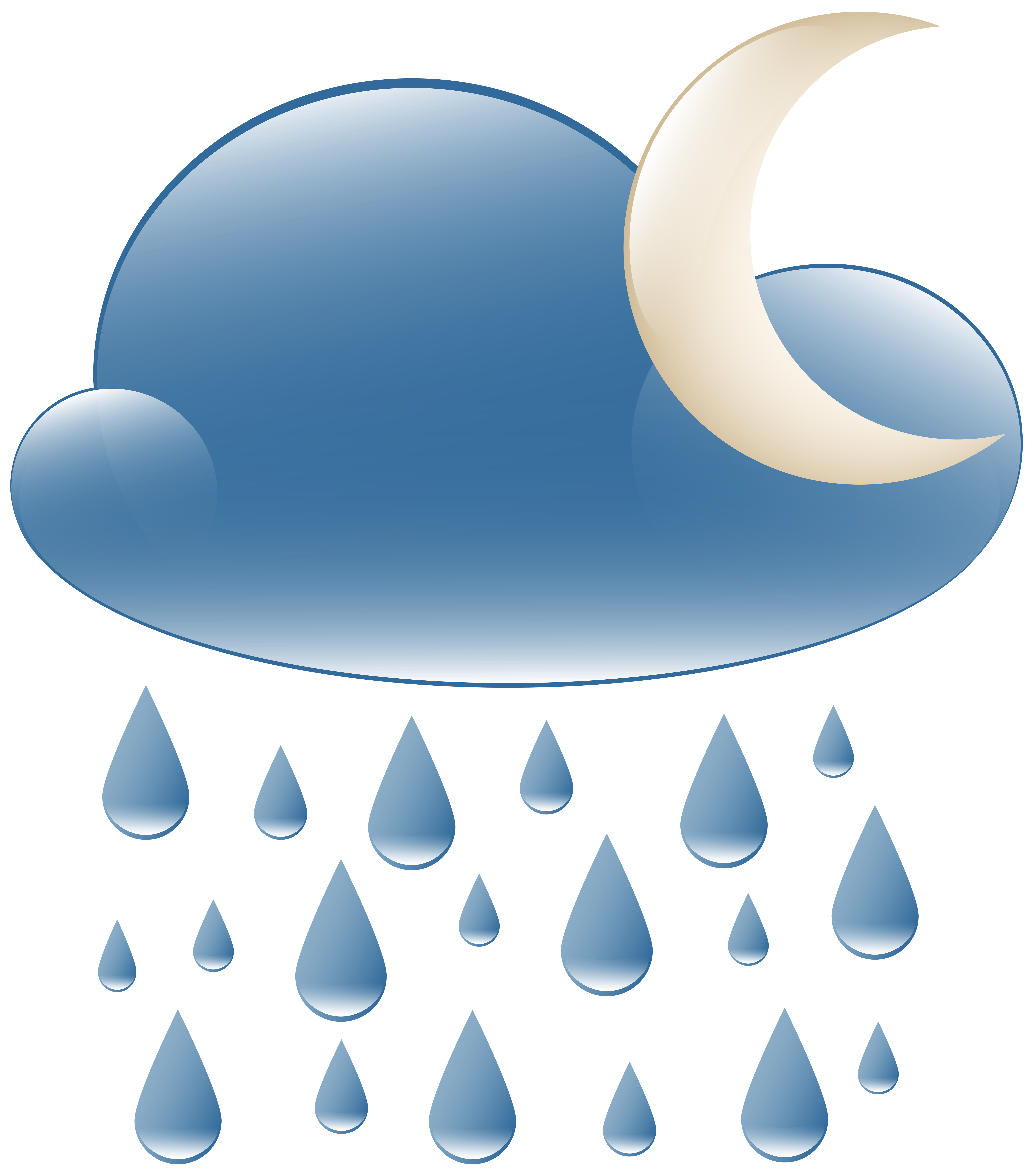 House at night clipart jpg freeuse download Rainy Night Weather Icon PNG Clip Art - Best WEB Clipart jpg freeuse download