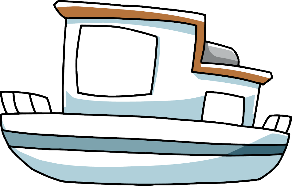 House boat clipart