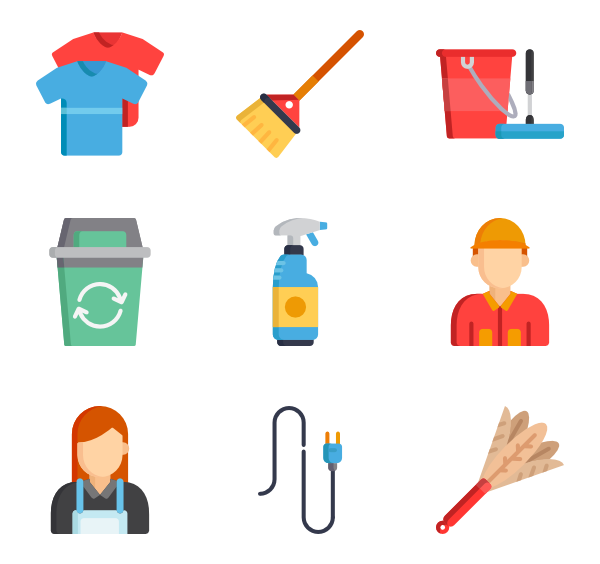 House cleaning clipart free graphic transparent stock 4 house cleaning icon packs - Vector icon packs - SVG, PSD, PNG, EPS ... graphic transparent stock