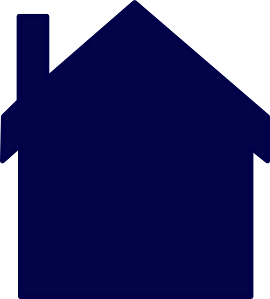 House clipart clipart image black and white Free House Blue Cliparts, Download Free Clip Art, Free Clip Art on ... image black and white