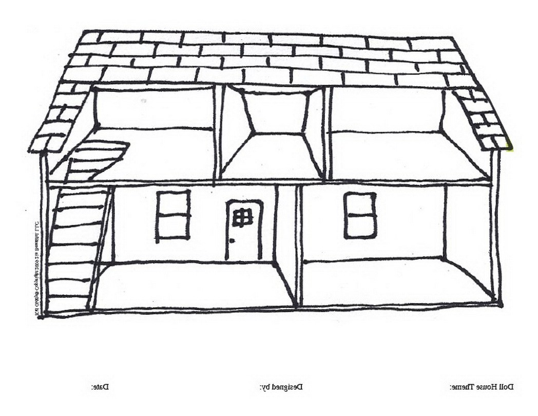 House clipart coloring sheet freeuse stock Coloring Page Of A House. girls and kids gt house coloring pages ... freeuse stock