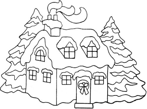 House clipart coloring sheet free stock house to color house coloring page houses to colour colouring ... free stock