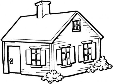 House clipart coloring sheet vector free download House clipart coloring sheet - ClipartFest vector free download