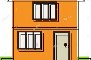 House clipart orange 2 story with garage graphic freeuse 1st communion clipart » Clipart Portal graphic freeuse