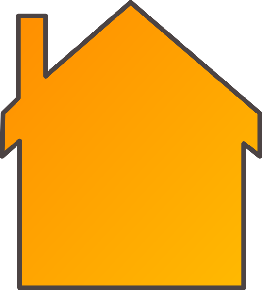 House clipart orange 2 story with garage vector freeuse download Free Orange House Cliparts, Download Free Clip Art, Free ... vector freeuse download