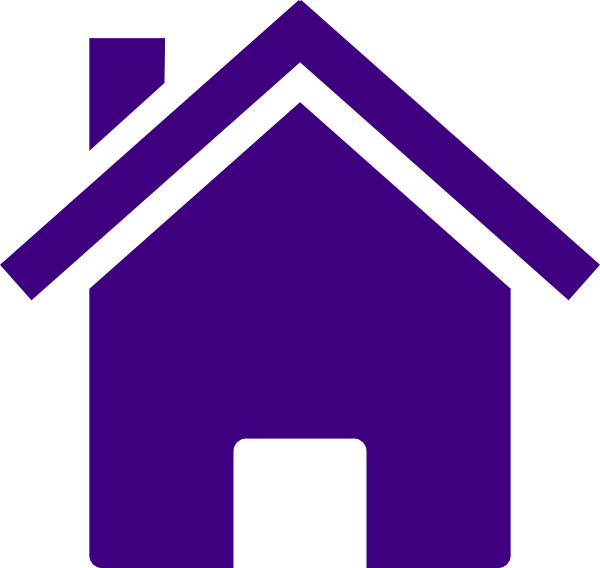 Simple house clipart svg royalty free download Simple Purple House Clip Art at Clker.com - vector clip art online ... svg royalty free download