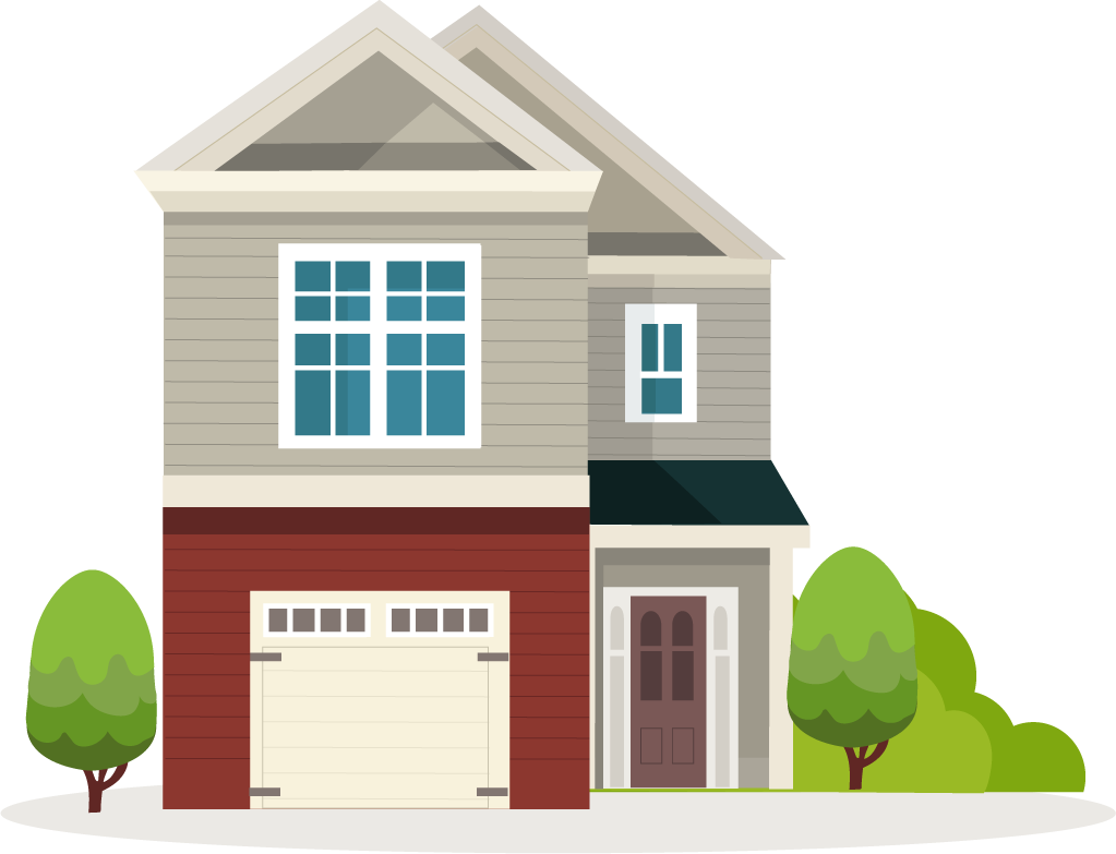 Transparent clipart house jpg black and white library Home PNG Transparent Free Images | PNG Only jpg black and white library