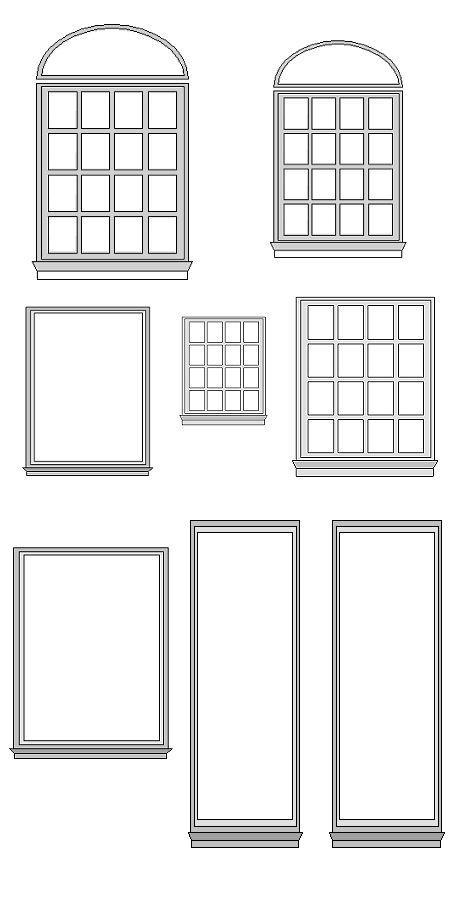 House craft printables windows and door clipart image freeuse download House craft printables windows and door clipart - ClipartFest image freeuse download