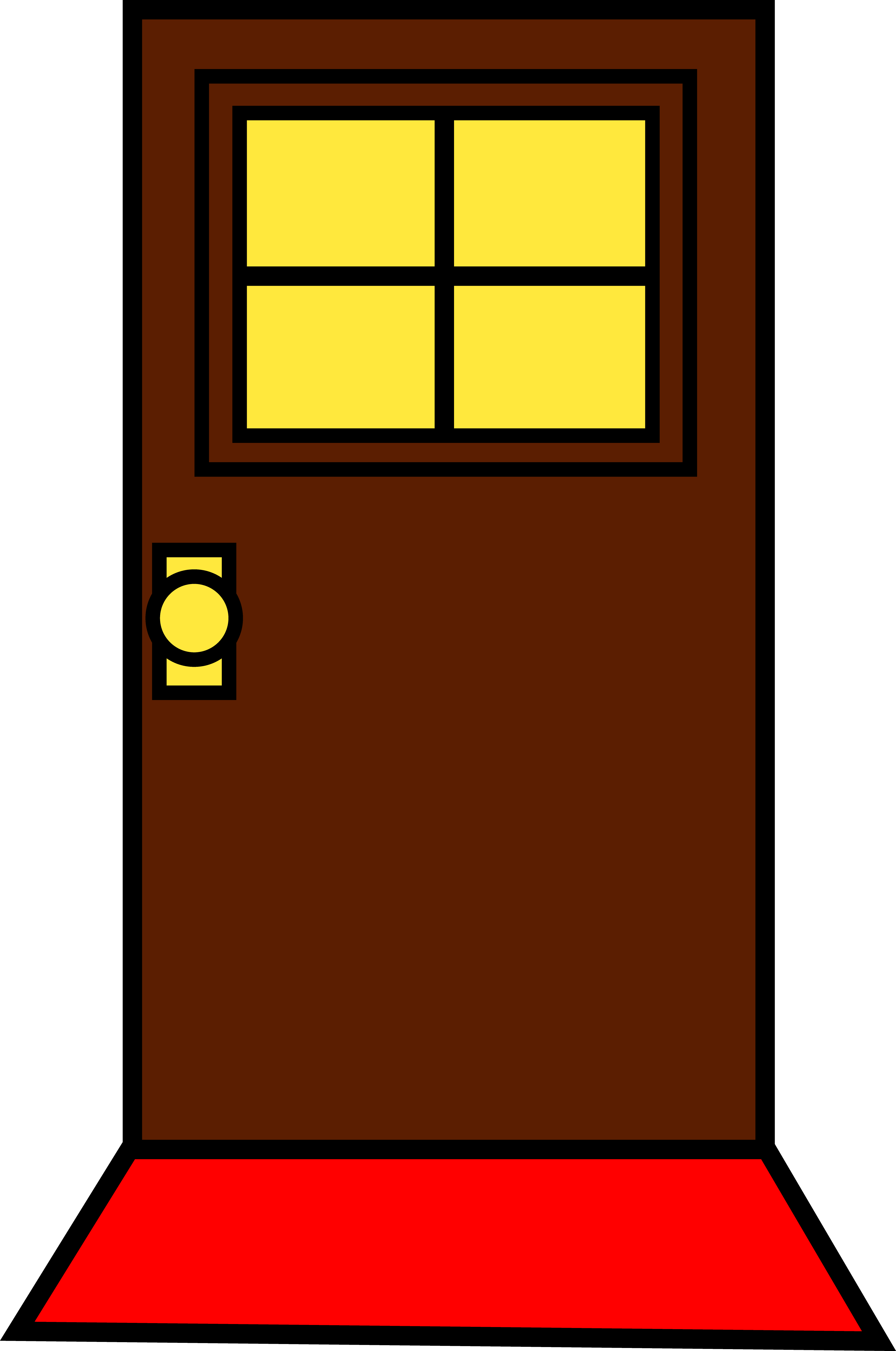 House door clipart graphic transparent library Front Door Clipart Image Group (75+) graphic transparent library