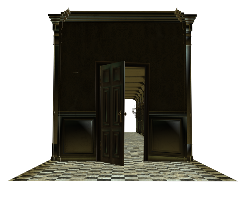 House door clipart png freeuse library room house door open cut-out by madetobeunique on DeviantArt png freeuse library