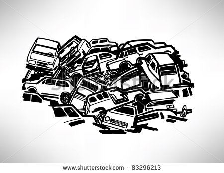 House filled with junk clipart clipart freeuse download Free junk car clipart - ClipartFest clipart freeuse download