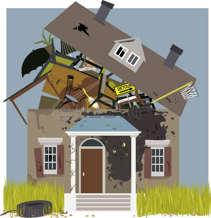 House filled with junk clipart picture freeuse download 1,011 Messy House Cliparts, Stock Vector And Royalty Free Messy ... picture freeuse download