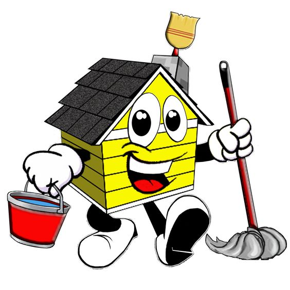House filled with junk clipart picture download House Cleaning: Professional Cartoon House Cleaning Logos ... picture download