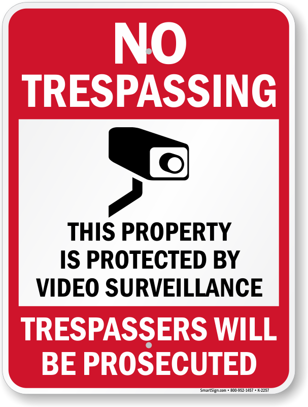 House for sale sign clipart svg transparent Free No Trespassing Signs - Download and Print svg transparent