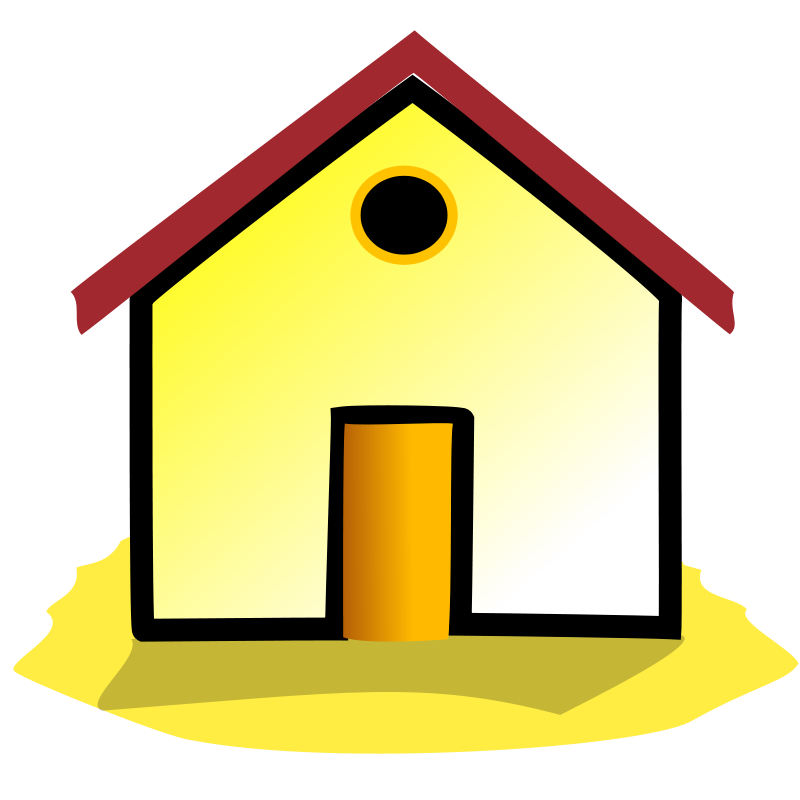 House | Free Stock Photo | Illustration of a house | # 14538 image freeuse library