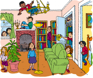 House full clipart picture transparent How to De-Clutter a House Full of Kids - Zen of Zada picture transparent