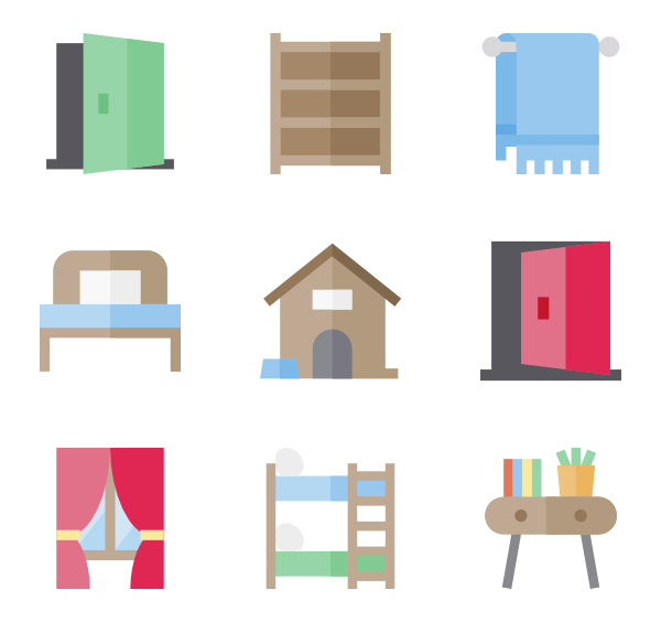 House furniture clipart png free stock 35 bed icon packs - Vector icon packs - SVG, PSD, PNG, EPS & Icon ... png free stock