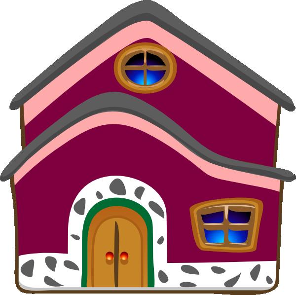 Spiral house clipart clip art library Grandmas Cottage Clip Art at Clker.com - vector clip art online ... clip art library
