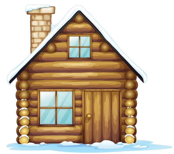 House in snow clipart jpg transparent stock Christmas House Clipart – Merry Christmas And Happy New Year 2018 jpg transparent stock