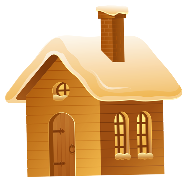 House in snow clipart png library download Gallery - Free Clipart Pictures png library download