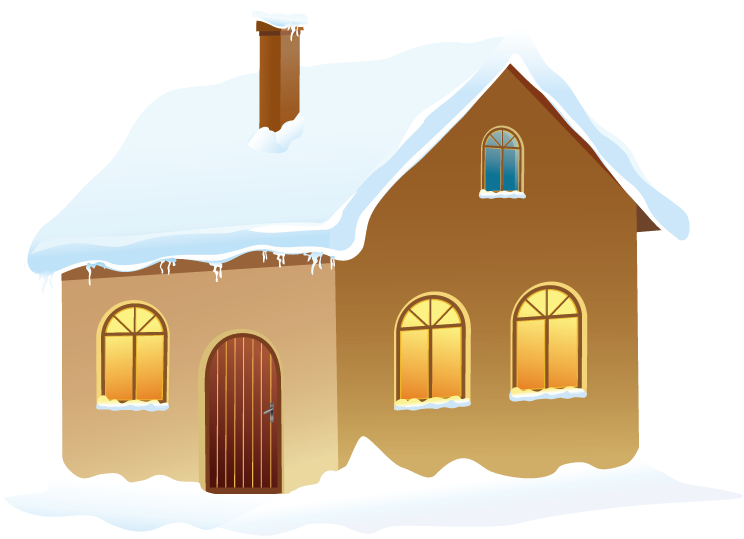 House in snow clipart svg library Winter House with Snow PNG Picture | Gallery Yopriceville - High ... svg library