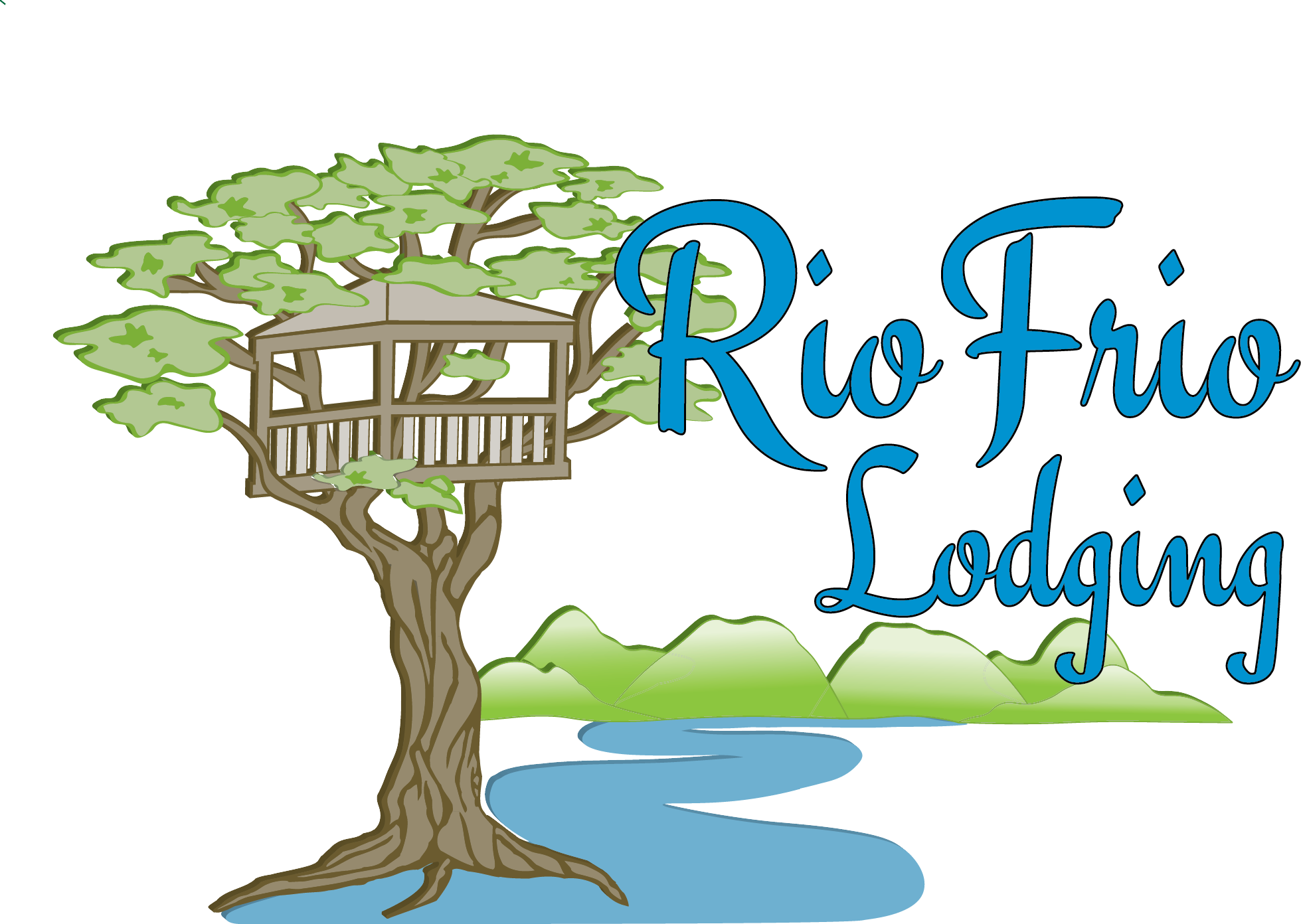 Trees and house clipart clipart freeuse download Frio River Treetop - Rio Frio Lodging clipart freeuse download