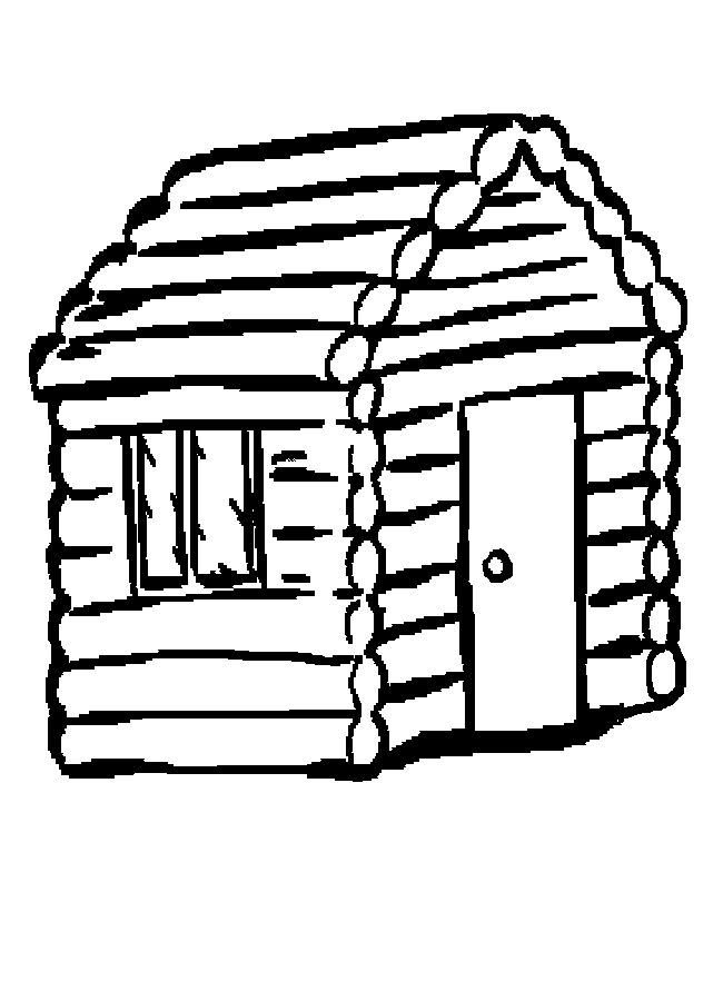 House in the woods clipart black and white clip art library library Cabin In The Woods Clipart | Free download best Cabin In The ... clip art library library