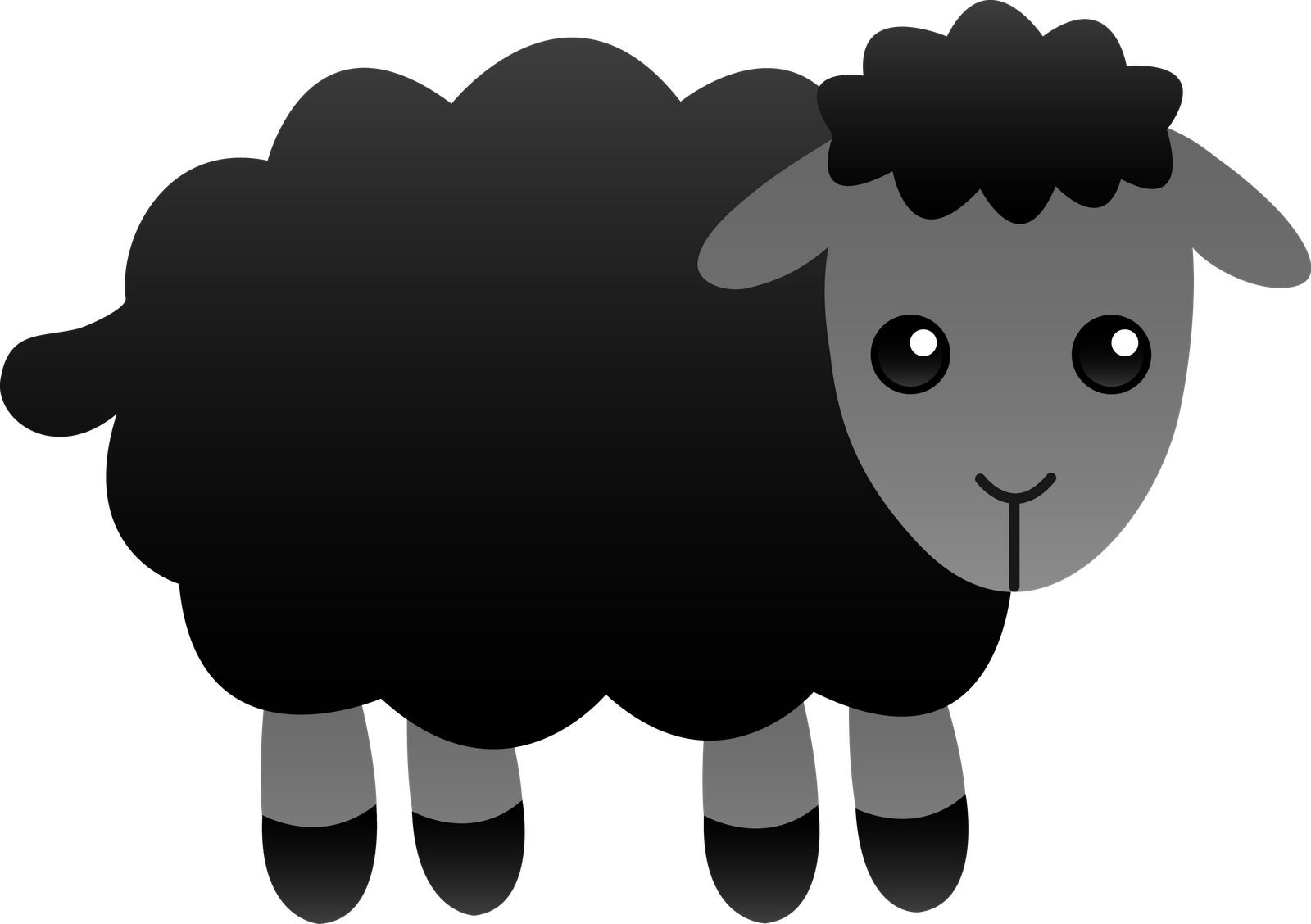 Turkey as a sheep clipart vector royalty free download Moving Sheep Clipart (24+) vector royalty free download