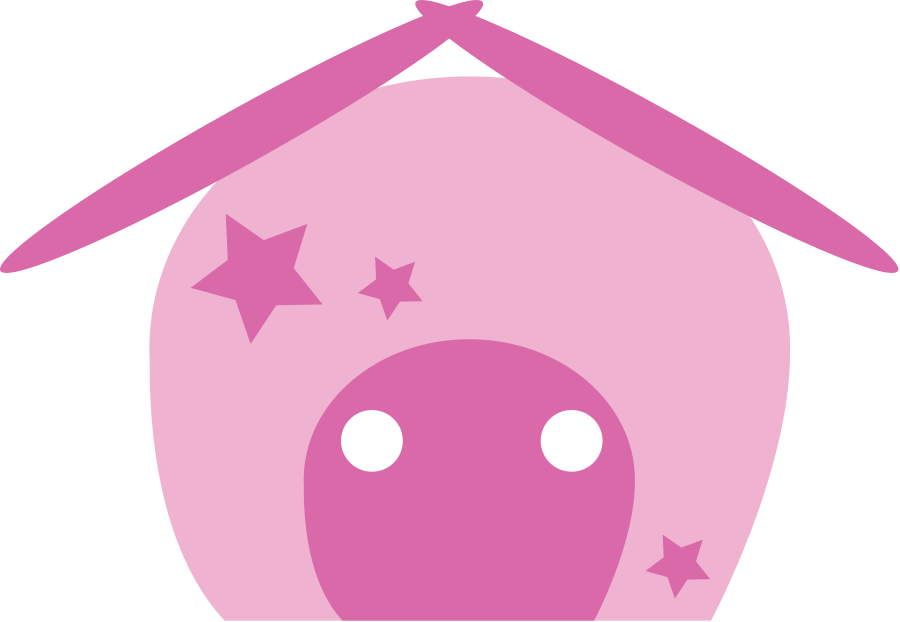 Kawaii house clipart banner black and white download Peppa Pig House transparent PNG - StickPNG banner black and white download