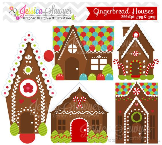 House invitation with hearts clipart clip art black and white stock Gingerbread house clipart | Navidad | Pinterest | Clip art ... clip art black and white stock