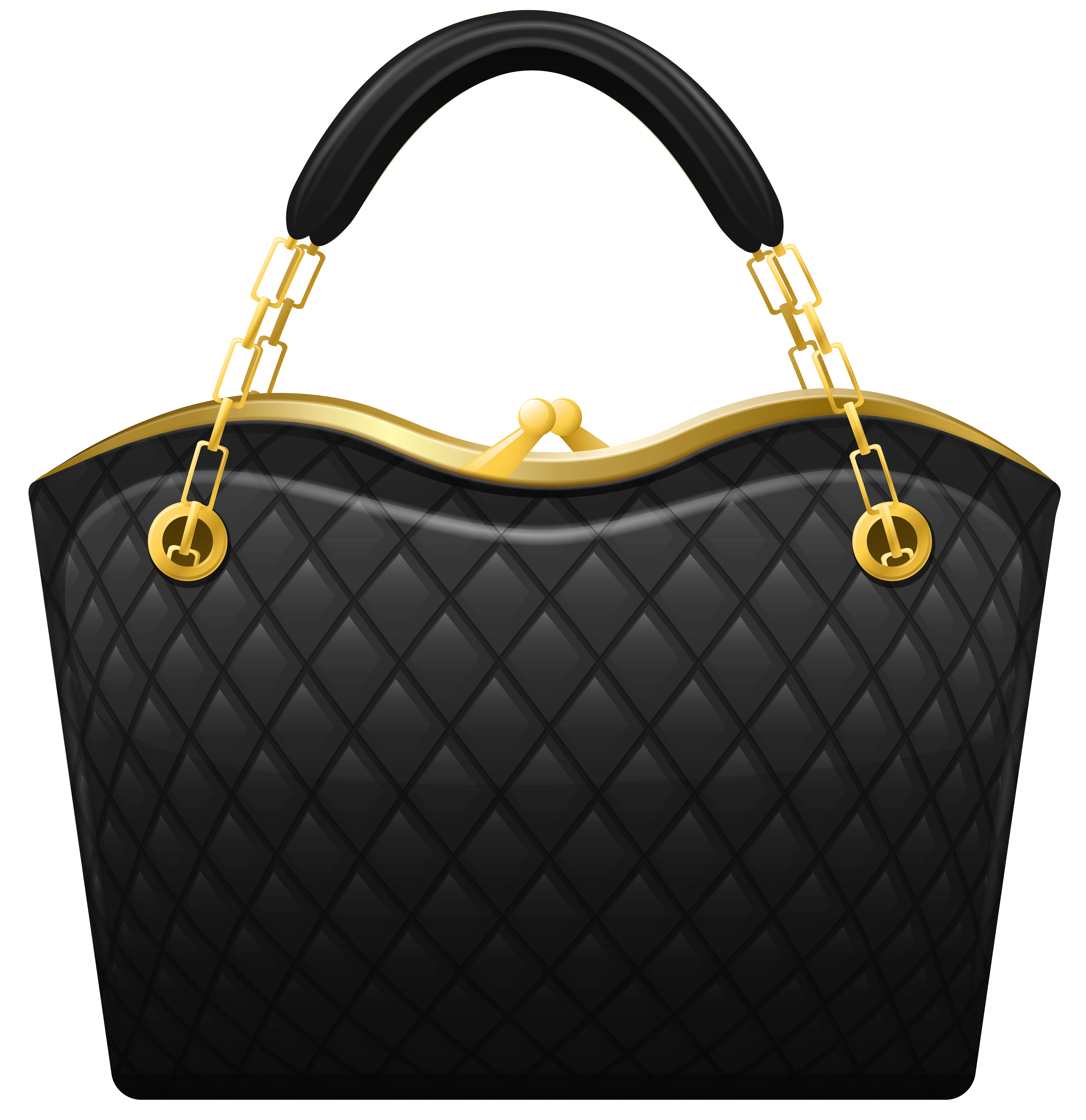 House keeping clipart graphic free stock Black Handbag PNG Clip Art | Photoshop - PNG's | Pinterest | Black ... graphic free stock