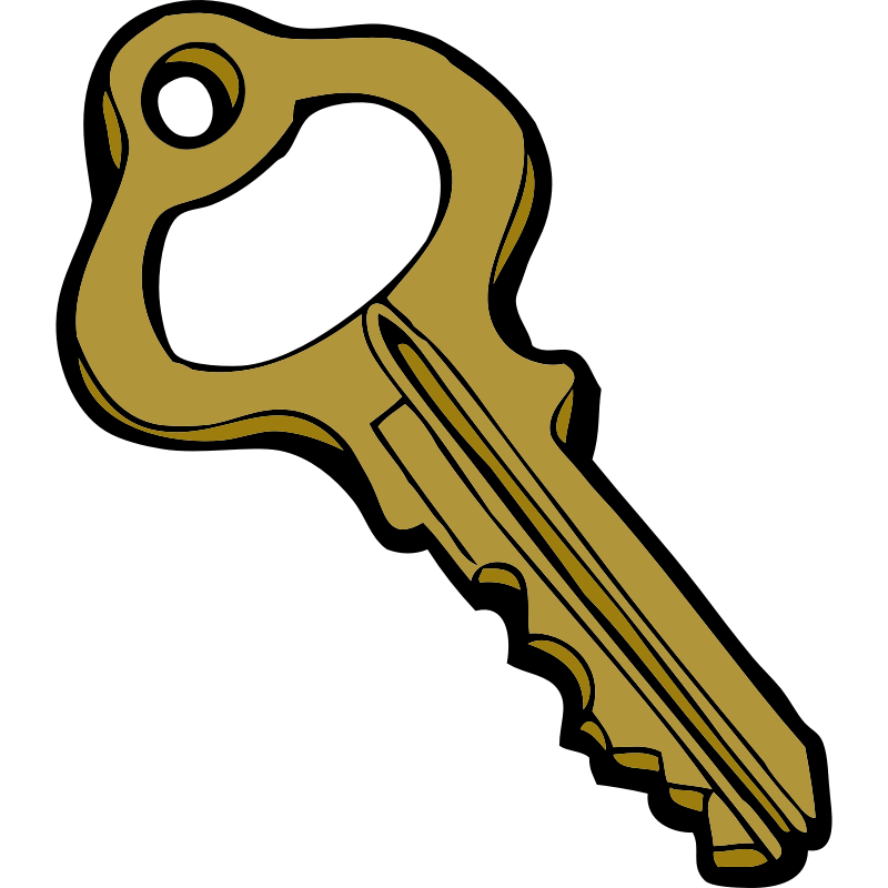 House keys clipart svg library Lock and key clipart free collection svg library