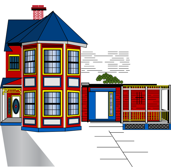 House plans clipart svg freeuse library Aabbaart House Renovation In-progress Clip Art at Clker.com - vector ... svg freeuse library