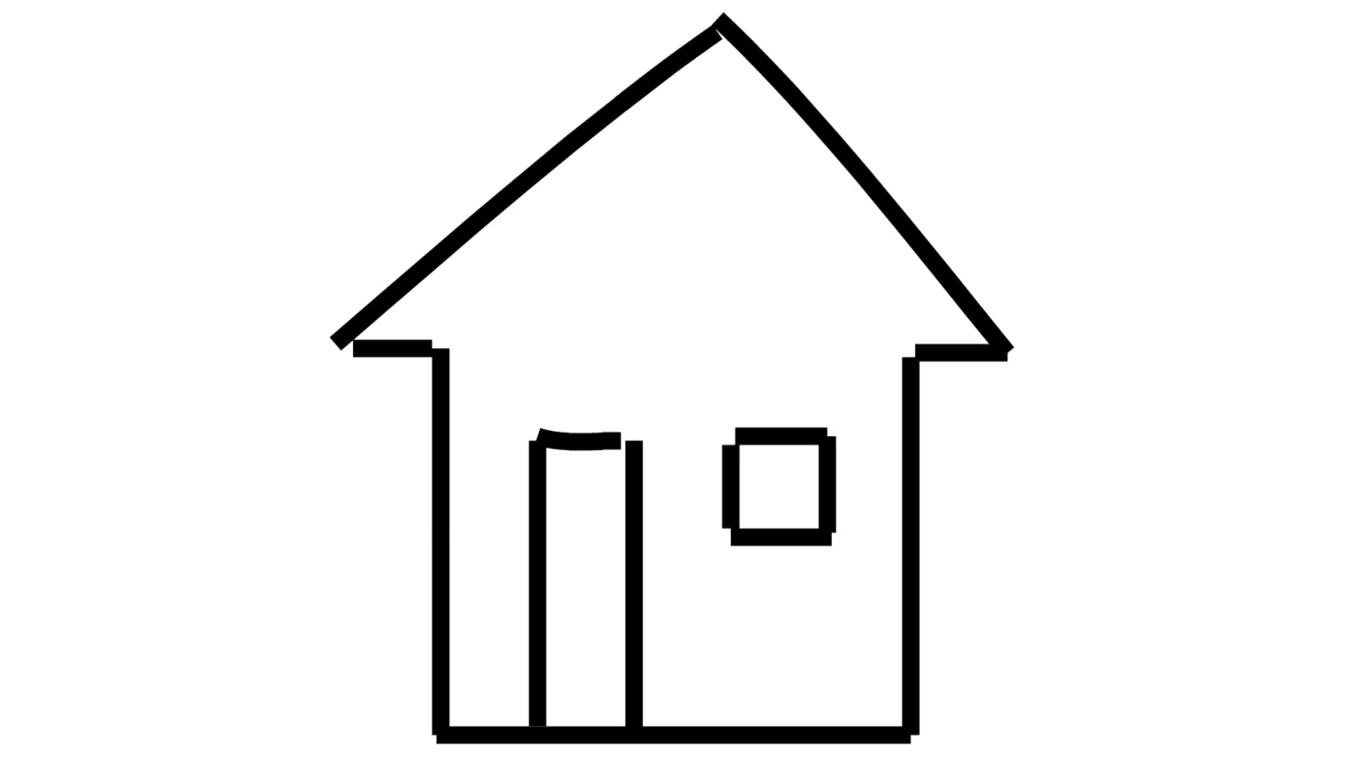 House love clipart black and white transparent background vector royalty free library House line drawing illustration animation with transparent background vector royalty free library