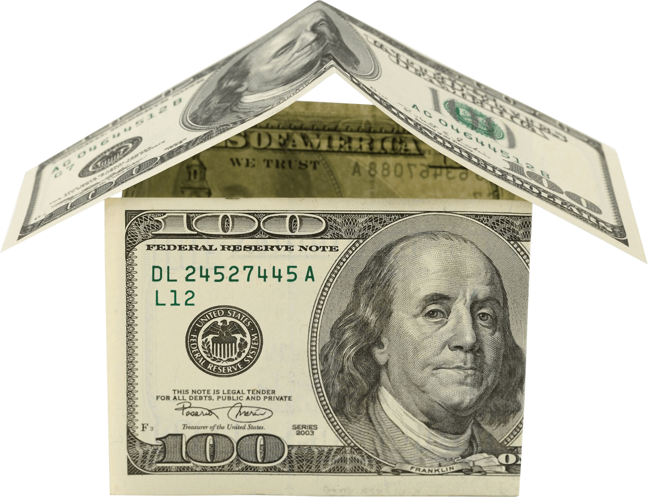 Money house clipart clip black and white library Money House Dollars PNG - PHOTOS PNG clip black and white library