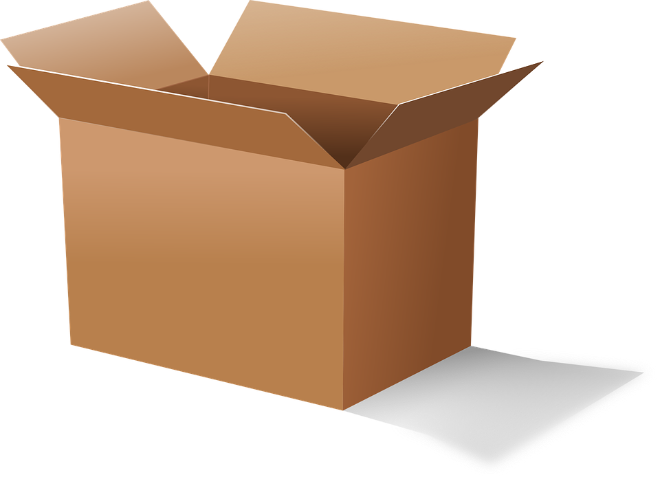 Cardboard moving boxes or plastic containers? | Dumbo moving and ... graphic free library