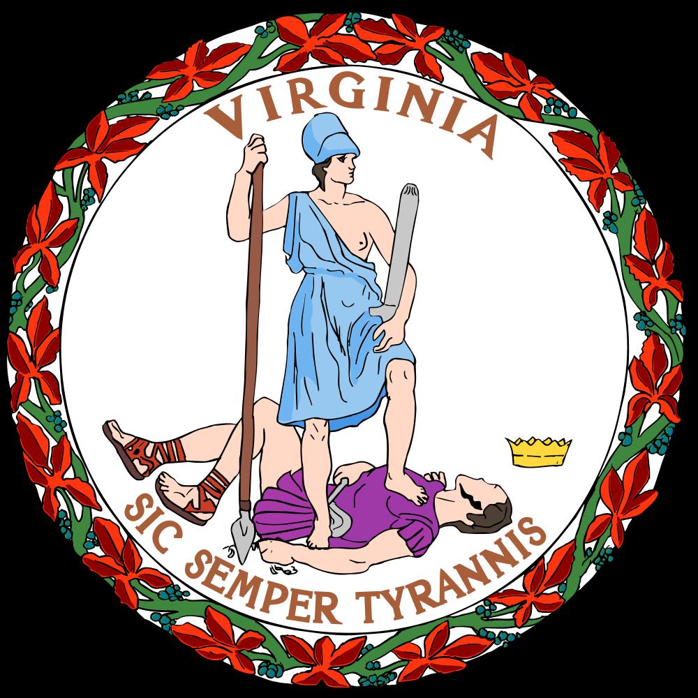 Virginia house of burgesses clipart clip art transparent stock Virginia state, USA clip art transparent stock