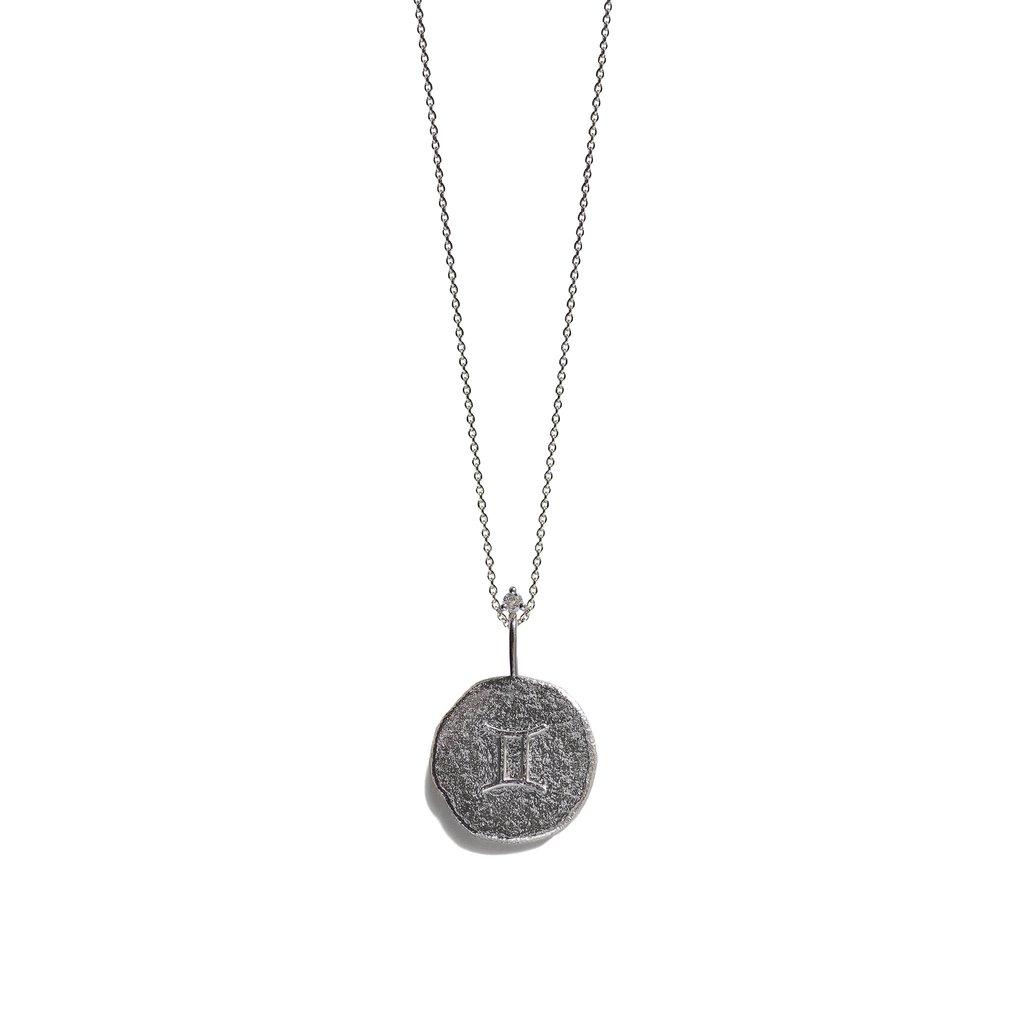 House of gemini jewellery clipart png freeuse stock GEMINI | The Silver Zodiac Necklace png freeuse stock