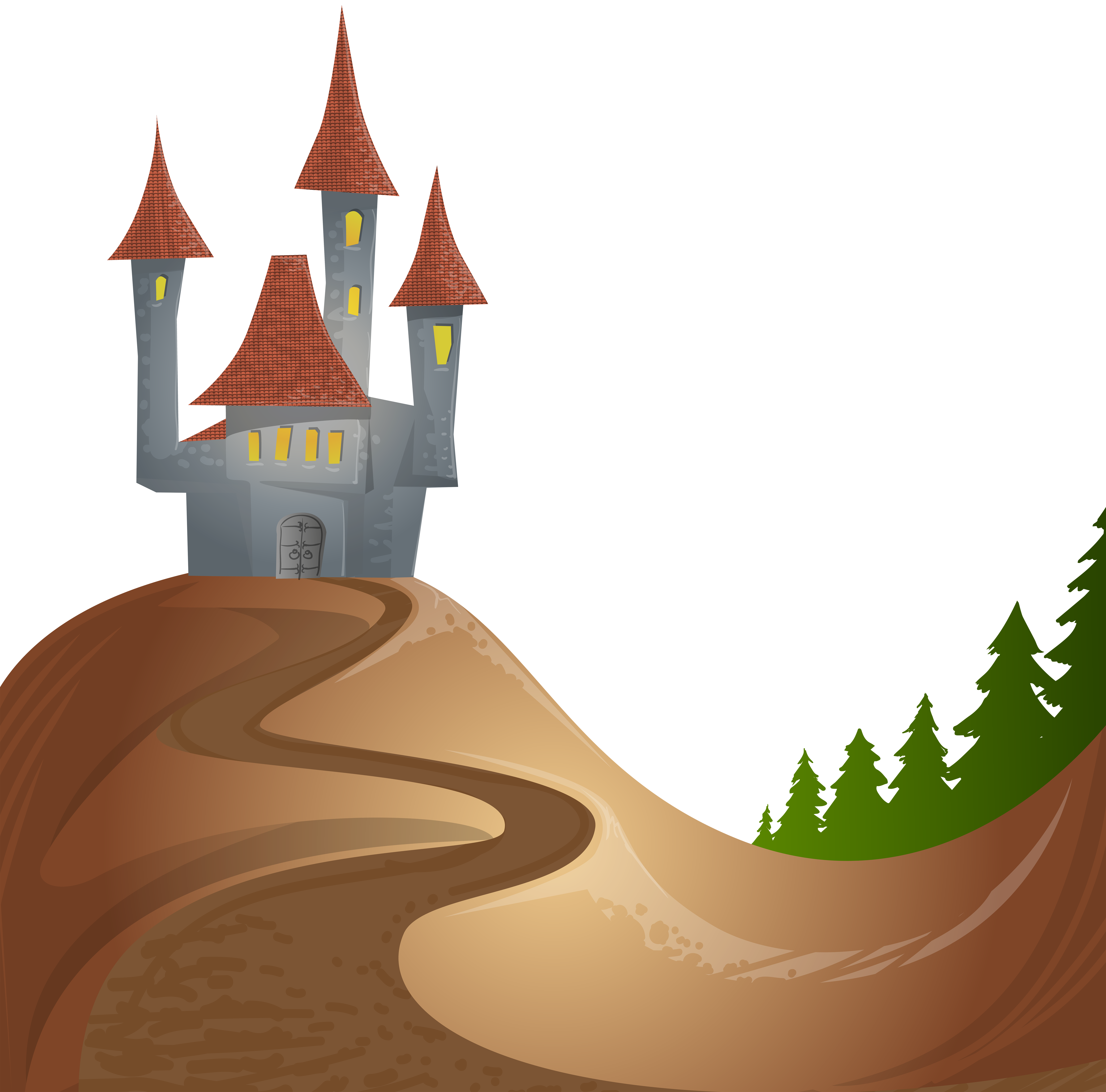 House on a hill clipart jpg transparent stock Hill Clipart Free   Free download best Hill Clipart Free on ... jpg transparent stock