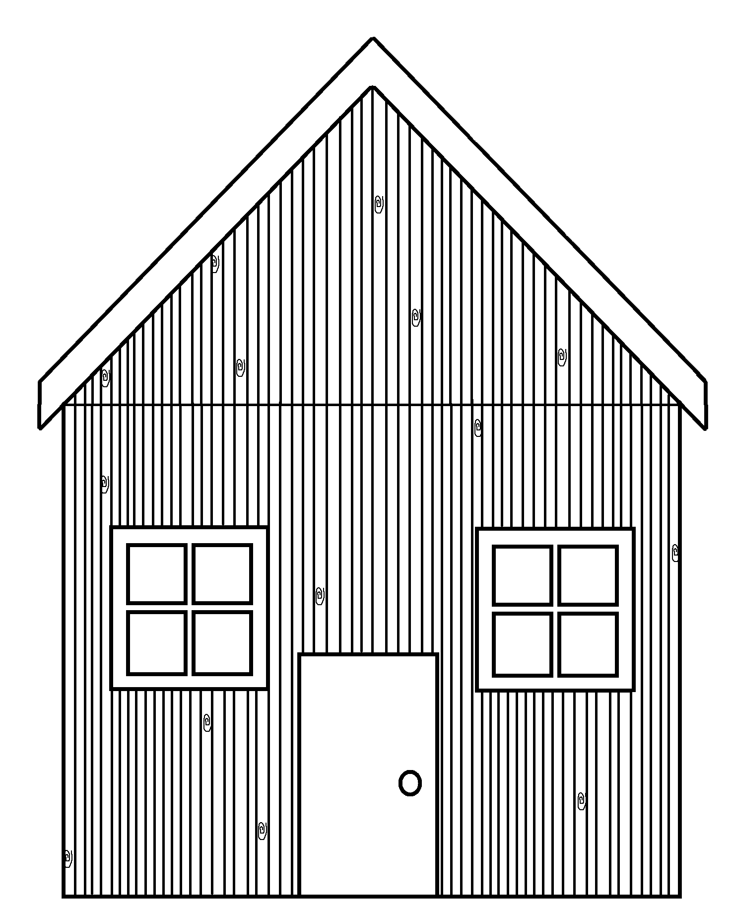 House outline clipart black and white picture freeuse stock Free Straw House Cliparts, Download Free Clip Art, Free Clip Art on ... picture freeuse stock