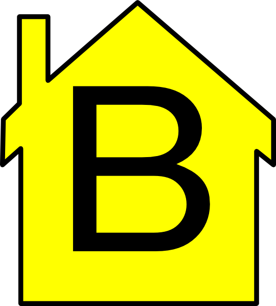 House outline clipart png clip royalty free download Yellow House Outline Clip Art at Clker.com - vector clip art online ... clip royalty free download