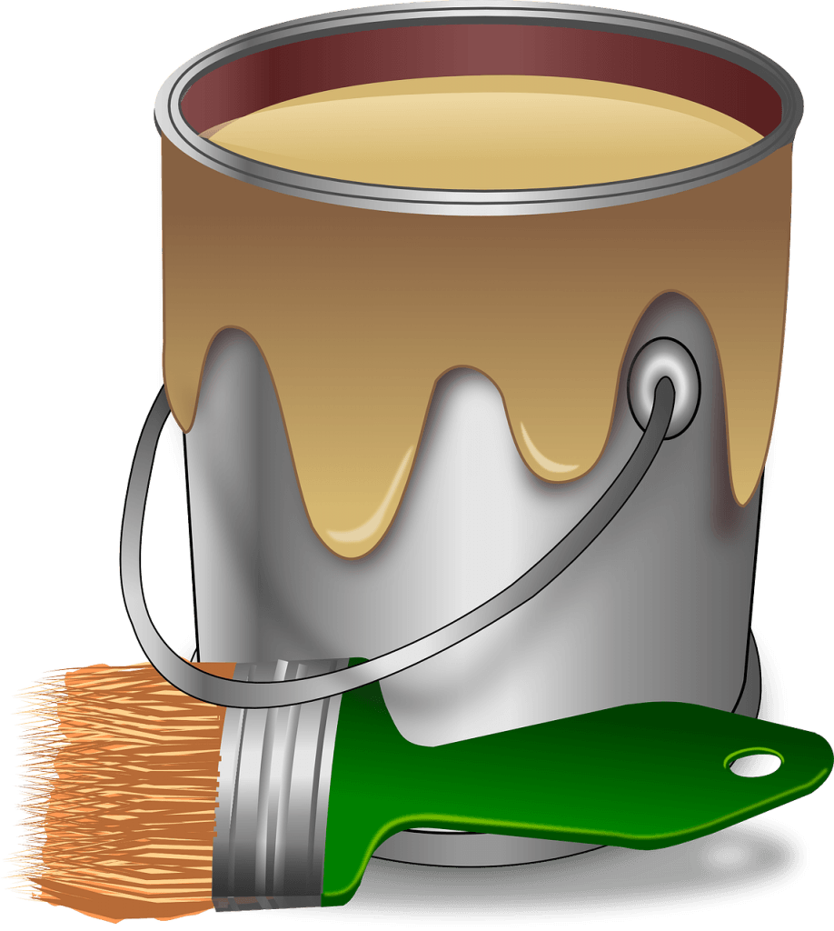 House painting itself clipart banner royalty free How to Paint Paneling - Step by Step Guidelines banner royalty free