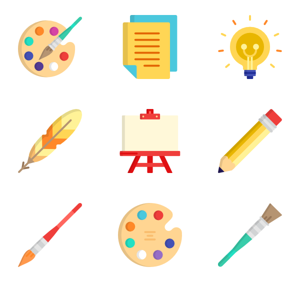 House painting tools clipart png free download Paint brush Icons - 1,926 free vector icons png free download