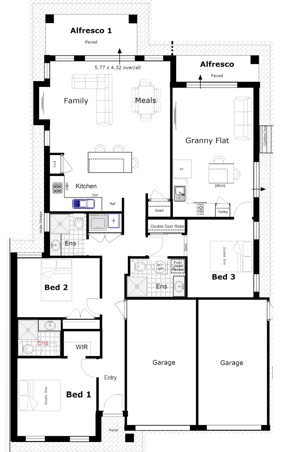 House plan clipart svg free library Designs svg free library