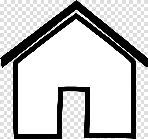 House png clipart black and whit clip art White House Black and white , House transparent background ... clip art