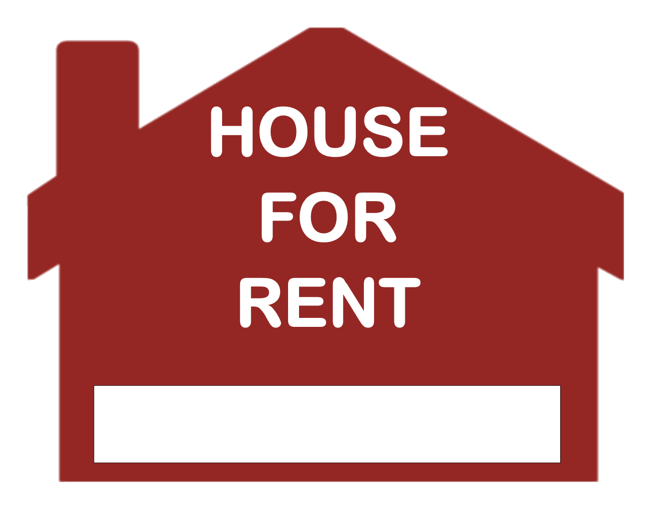 House sold sign clipart picture stock House For Rent Sign transparent PNG - StickPNG picture stock