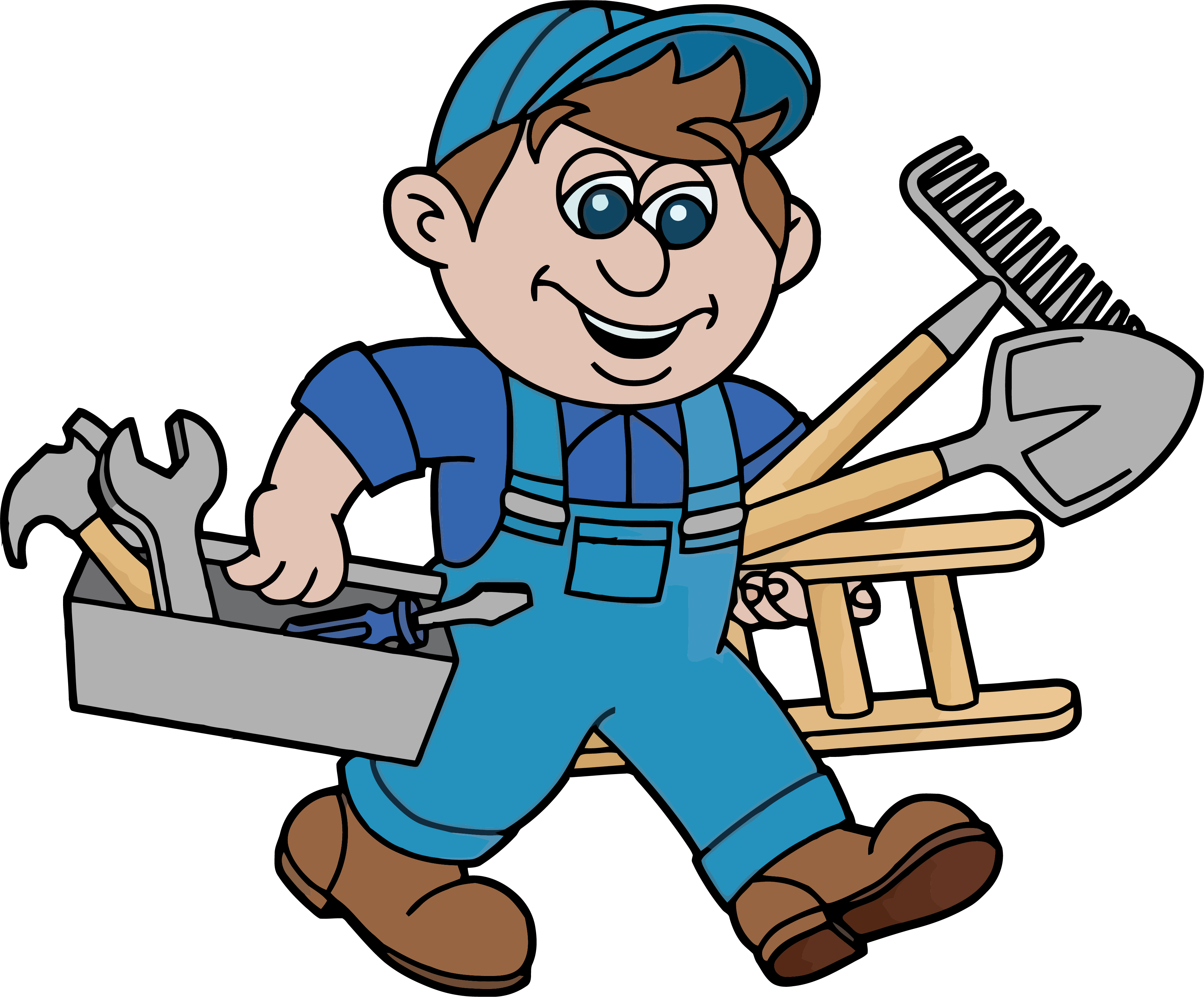House repair clipart picture black and white download Glasgow Handyman Services Advertising Home repair Home improvement ... picture black and white download