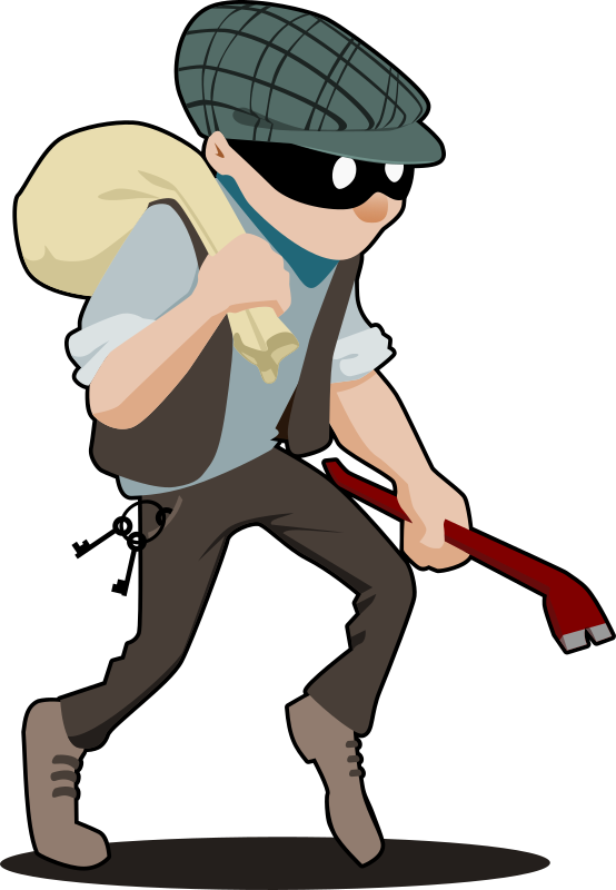Protection dog clipart svg library Moneycation: 5 ways to secure your property against theft svg library