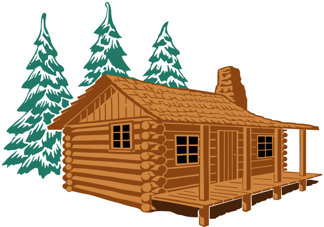 House rustic clipart picture free library Log cabin House Cottage Rustic Cartoon free commercial clipart - Log ... picture free library